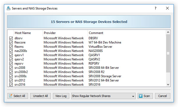 VX Search - File Search - Searching Servers and NAS Storage